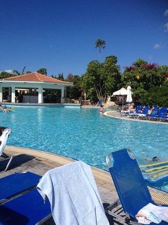 Avanti Holiday Village: half of the pool!