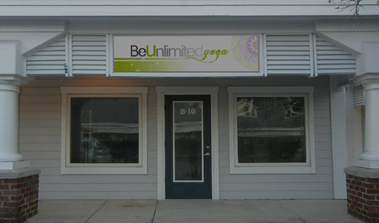 Be Unlimited Yoga: Front Entrance