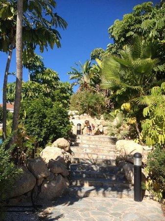 Avanti Village : steps to reception