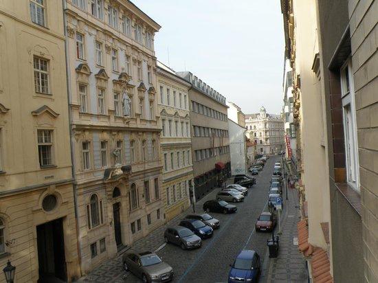 Apartment Konvikt: Вид из окна номера