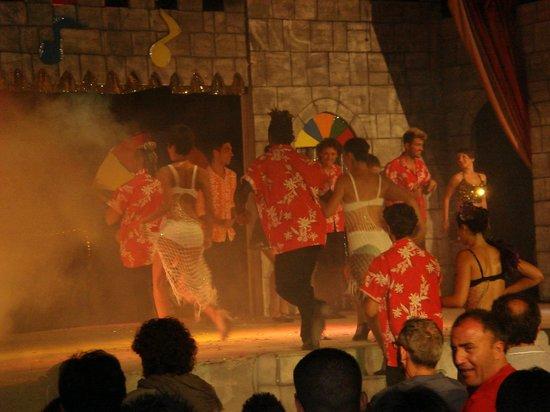 VOI Arenella resort: spettacolo
