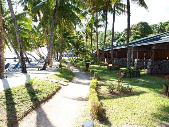 Coco de Mer - Black Parrot Suites: Номера superior напротив пляжа