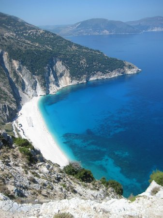 Kefalonia, Griechenland: View of Myrtos Beach