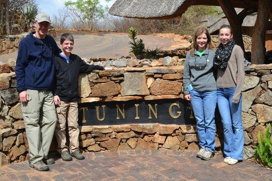 Tuningi Safari Lodge: Main lodge