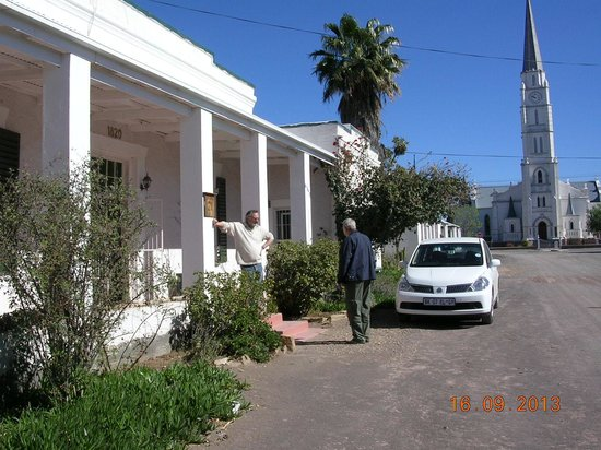 The Homestead Guest House: Talking to one of the owners