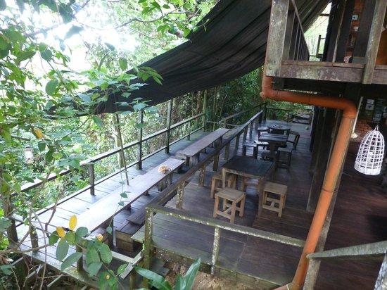 Paganakan Dii Tropical Retreat : cafe