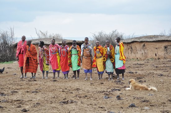 Elephant Pepper Camp : Maasai Village