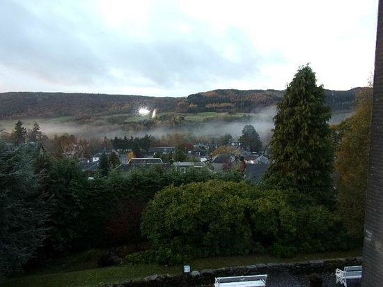 Knockendarroch Hotel & Restaurant : View from Room
