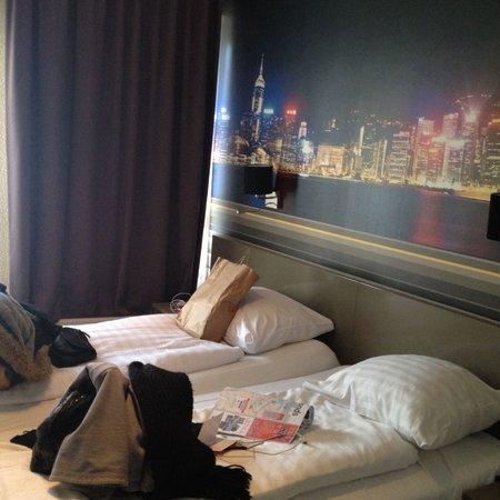 Budget Hotel Tourist Inn: New part rooms