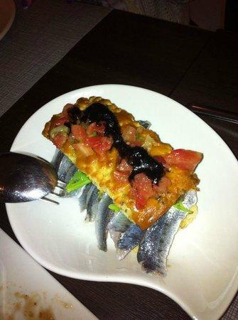 Beeca Da2: Focaccia de sardinas