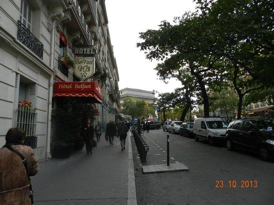 Hotel Belfast : Отель с улицы