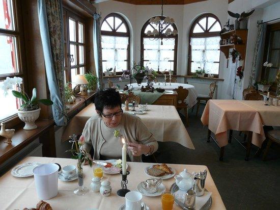 Waldblick Hotel Kniebis: Hôtel WALDBLICK au mois de Décembre 2012