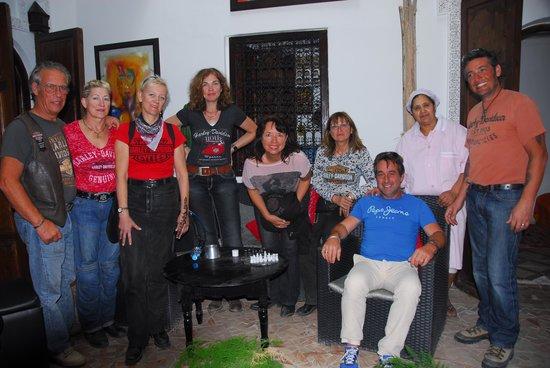 Riad Dar Khmissa Marrakech : Tres bon moment
