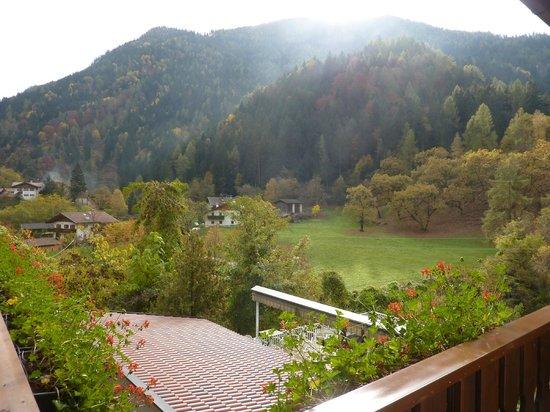 Albergo Zur Sonne: panorama sul retro