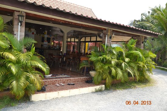 Sofia Garden Resort: Рецепшн, он же и ресторанчик