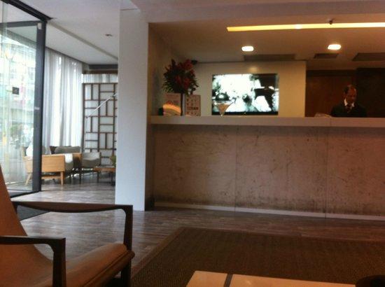Mar Ipanema Hotel: counter at the reception area
