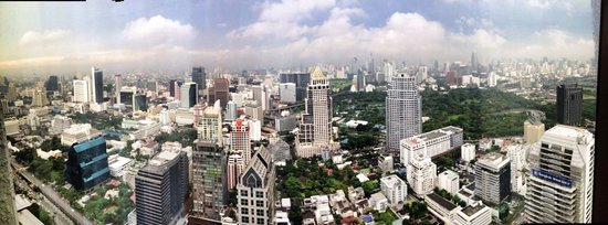 Banyan Tree Bangkok: view