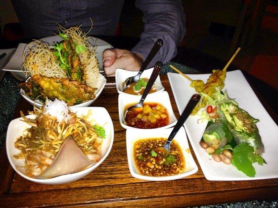 Banyan Tree Bangkok: food