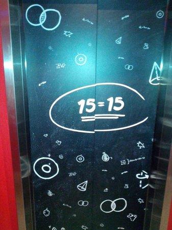 Ibis Brighton City Centre Station: The lift