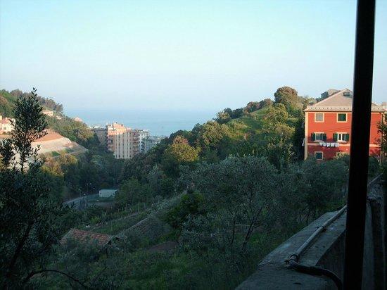 Hotel Torre Cambiaso: Vue d'un côté