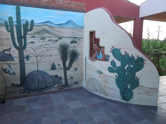 Hacienda de Palmas : At the deck