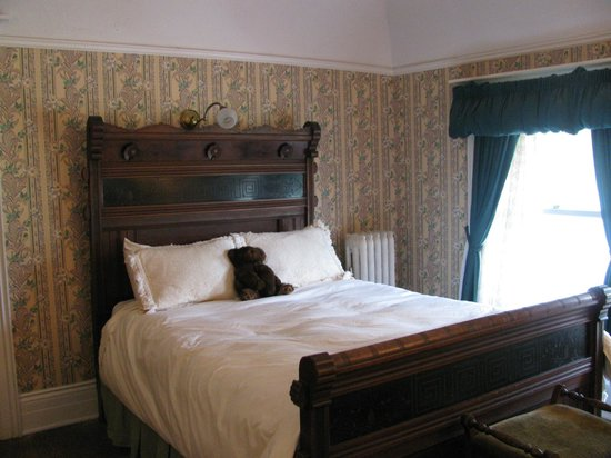 Redstone Castle : The bedroom where Teddy Roosevelt stayed