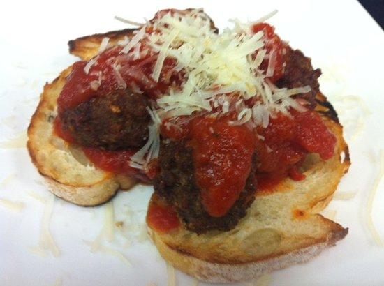 Calilou: Garlic and Bacon Mini Meatballs
