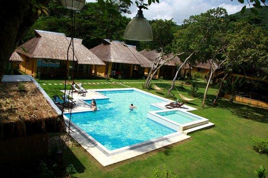 La Natura Resort: Вид на бассейн