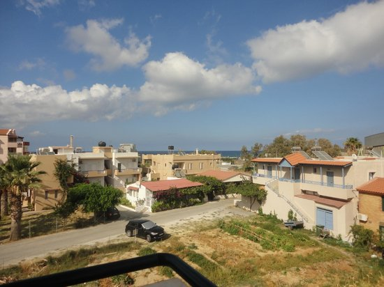 MariRena Hotel: Вид с балкона номера