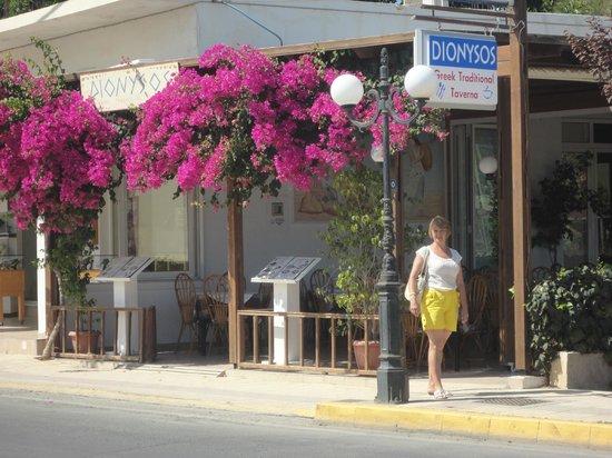 "MariRena Hotel: Ресторан отеля ""Марирена"" . Вид с улицы"