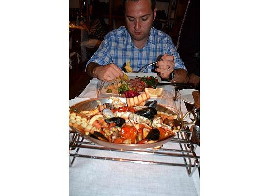 Ristorante Max: Dinner the second night