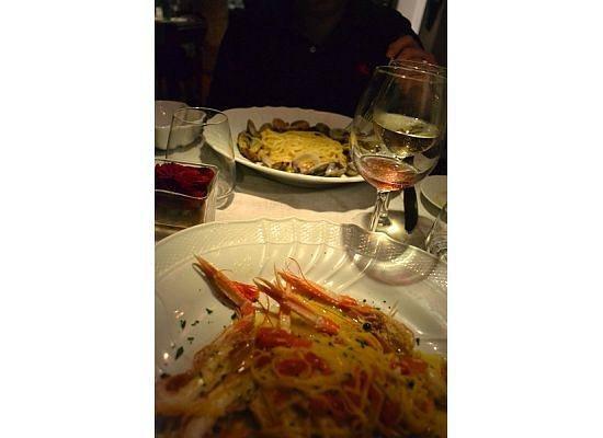 Ristorante Max: Dinner the first night.
