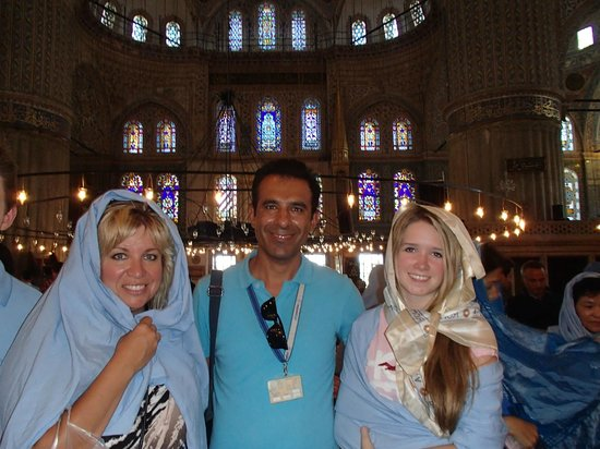 Istanbul Custom Tours-Private Day Tours : Aykut our Guide and our Istanbul friend!