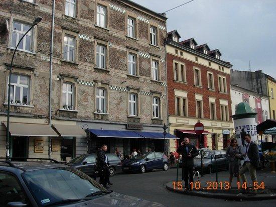 Hotel Kazimierz: old market