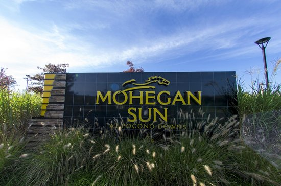 The Sign At The End Of Our Drive Picture Of Mohegan Sun Pocono