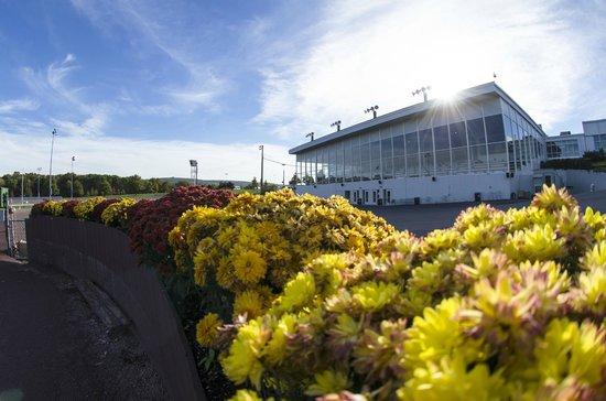 Mohegan Sun Pocono: The clubhouse at the harness racetrack.