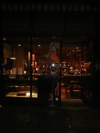 Floridita: Front Window Dressing
