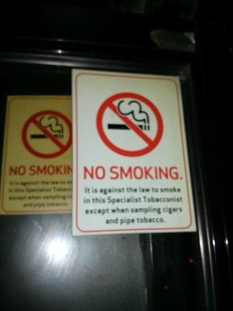 Floridita: Yes, Sampling only - no smoking