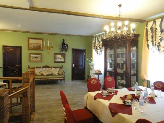 Maryino Manor Country Hotel : Гостевые комнаты и библиотека