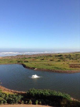 Mazagan Beach & Golf Resort : blick auf den Golfplatz