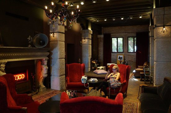 Generator Hostel Venice: el lobby