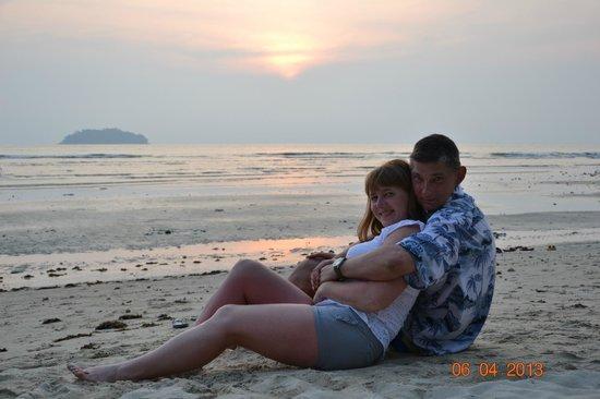 Khlong Prao Beach : Вечернее море