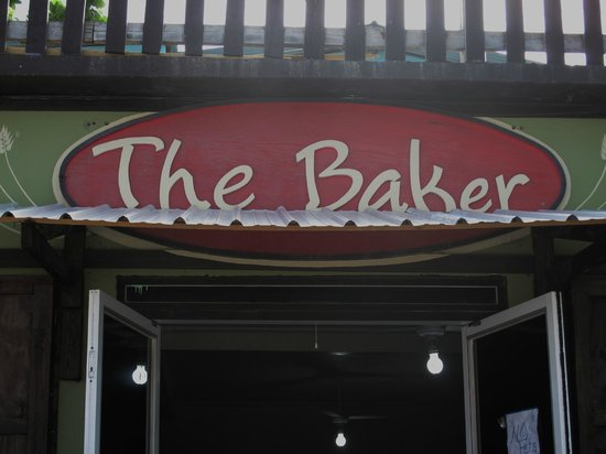 The Baker: View from the street