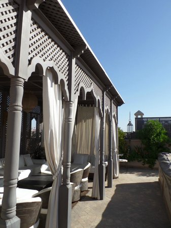 Riad Noir d'Ivoire: The roof terrace