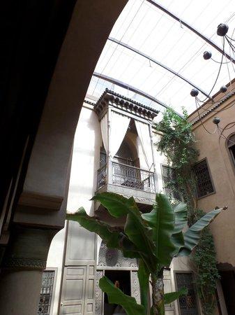 Riad Noir d'Ivoire : The balcony on Elephant room