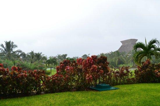 Mayan Palace Acapulco: La recepción vista desde la habitación