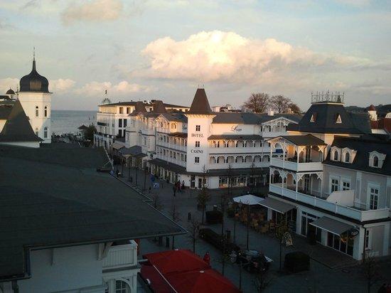 Centralhotel Binz: Junior Suite - Blick auf Binz und die Ostsee