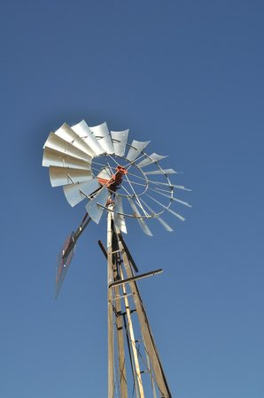 Deer Trail, CO: Windmill at Richmil Ranch Open Space.