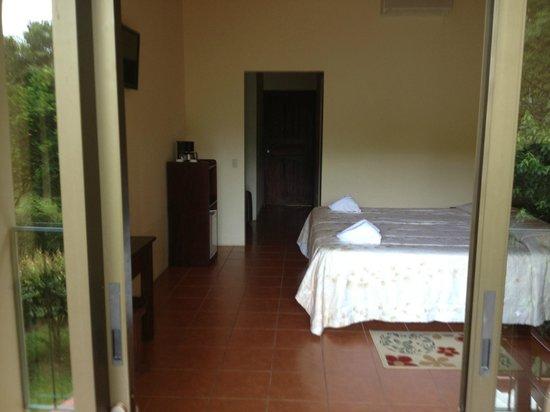Hotel Monte Real: Quarto visto da varanda