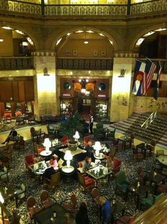 The Brown Palace Hotel and Spa, Autograph Collection: Lobby - you should see it during the holidays!